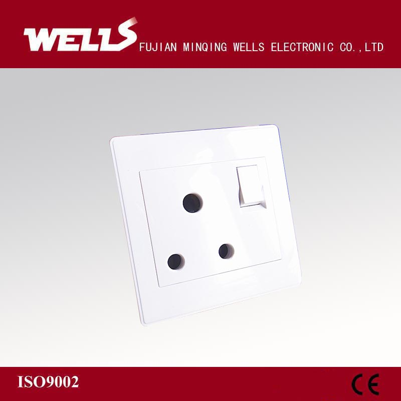 south africa 1 gang 1 way wall switch socket shutter
