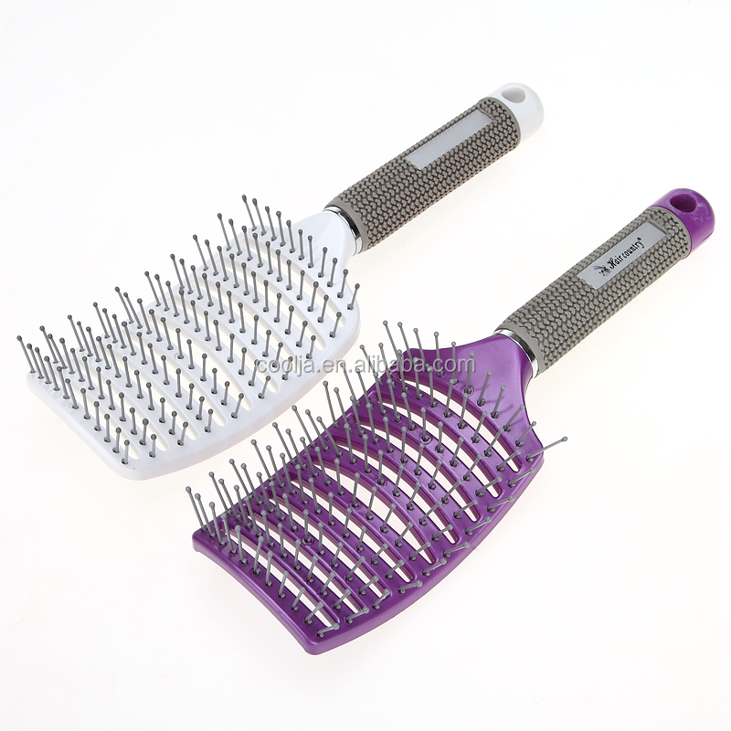 Hair Massage Combs Salon Antistatic Curved Brushes Barber Hairdressing Rows Tine Styling Tools Vent Hair brush