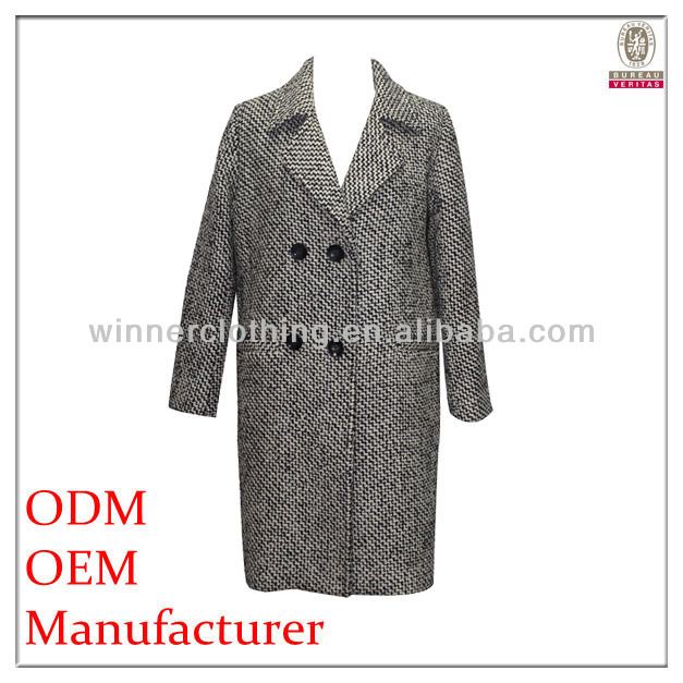 Latest design perfect cut loose fit name brand winter coats