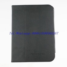 hot tablet cover standable book case for Tecno pad N9 with packing black pink color