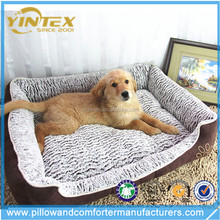 YINTEX High Quality luxury Soft big orthopedic dog bed super plush bed