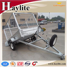 galvanized metal used box trailer