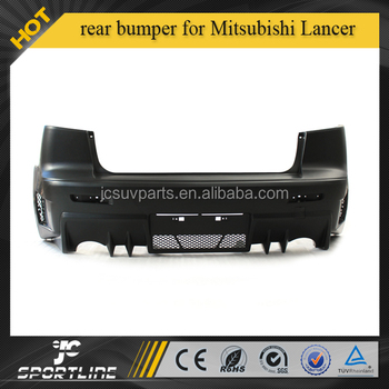PP rear bumper for MITSUBISHI LANCER EVO