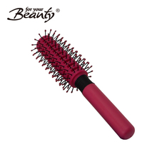 Factory fast delivery styling round plastic hair comb