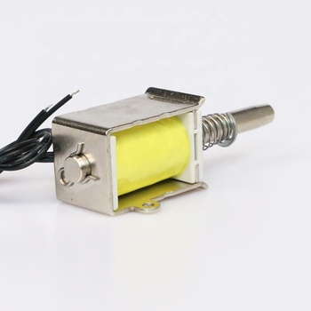 High Quality Pull Open Micro DC 12v 24v Solenoid Electromagnet