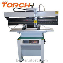 SMT small solder paste stencil printer T1200D for PCB assembly