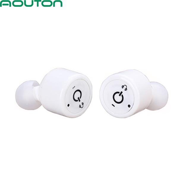 2017 Invisible Earbuds Bluetooth V4.2 Stereo Noise Cancelling Mini Sports Headphones Bluetooth Headphones true Wireless