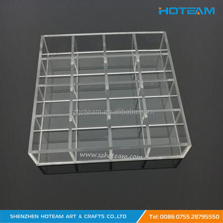 Acrylic Bracelets Jewelry Show Case Clear Acrylic Earrings Display Boxes