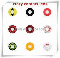 halloween crazy colored contacts/new design hot selling cosmetic eye contact