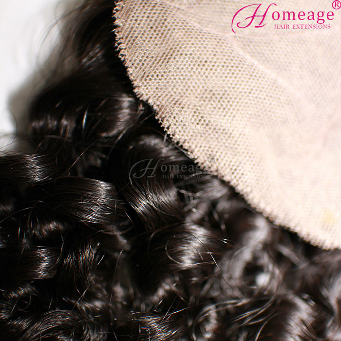 homeage real scalp hair pieces for top of head