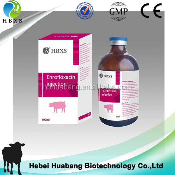 Enrofloxacin Injection Veterinary Pharmaceutical/medicine/drug
