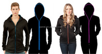 EL light hoodies Adult Model