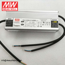 Meanwell HLG-320H-C1400B 320W Constant Current Dimmable Hytec LED Driver