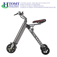 HTOMT factory wholesale 250cc foldable 3 wheel electric scooter bike with big wheels