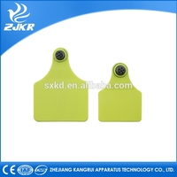 Best competitive ZJKR animal insured ear tag without laser printing