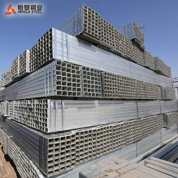 Hengji steel! ms square pipe price in Tianjin steel pipe mill