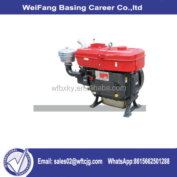 Alibaba china ZS1100 15HP water cooled 4 stroke single cylinder diesel engine