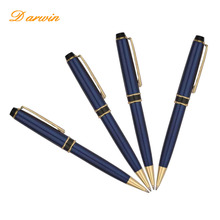 Classic good quality metal ballpoint pen promotional sapphire metal gift ball pen