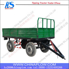 8 ton Four Wheel Farm Trailer For Agricultural