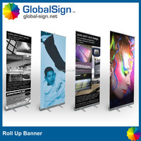 advertising pop up displays banner roll screen up