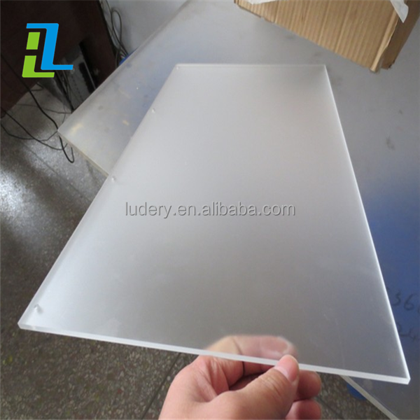 High quality frosted acrylic sheet, PMMA/lucite frosted acrylic sheet for led light