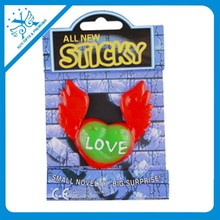 Party bag filler toy sticky toy wings love print novelty toys
