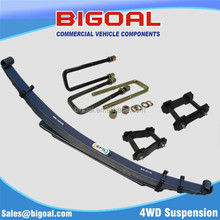 4WD suspension leaf spring ,U-bolt and greasable shackles and pins kits