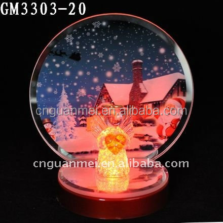 2015 Christmas Ornaments crystal votive candle holder