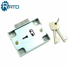Iron Safe Panel Key Locks Double Key for Iron Cabinet