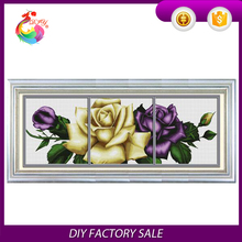 Package printing crafts materials the latest cross stitch kits Passion Rose