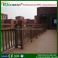 WPC decking floor and fence with durable and moisture-proof widely used in outdoor landscape