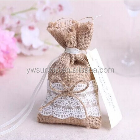 unique gunny bag candy wedding favor bags buy wedding favor bags