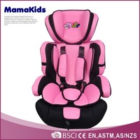 High quality with safety belt kids car seat hot-selling functional baby racing car seat