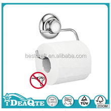 Stainless Steel Toilet Paper Holder with Super Suction Cup