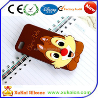 Custom 3D Cartoon silicone case for iphone 6