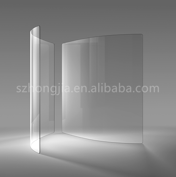 Wholesale 3-25mm hot bent display cabinet glass