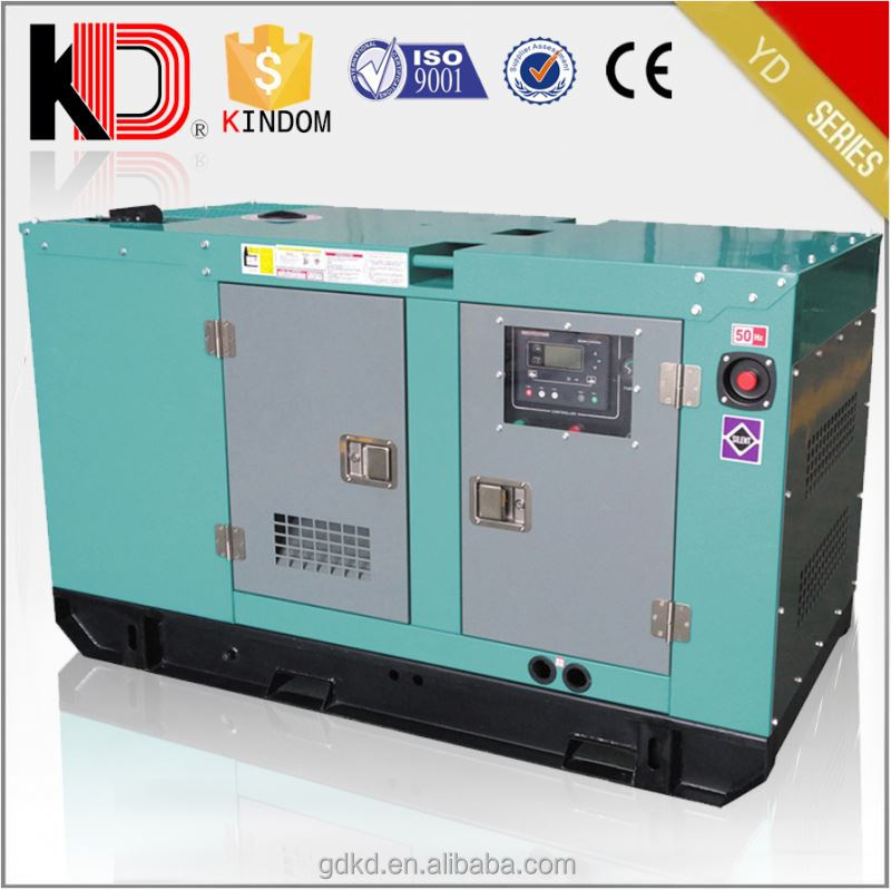 15KVA slient electirc power price sale diesel generator set genset generating set yangdong engine spare parts
