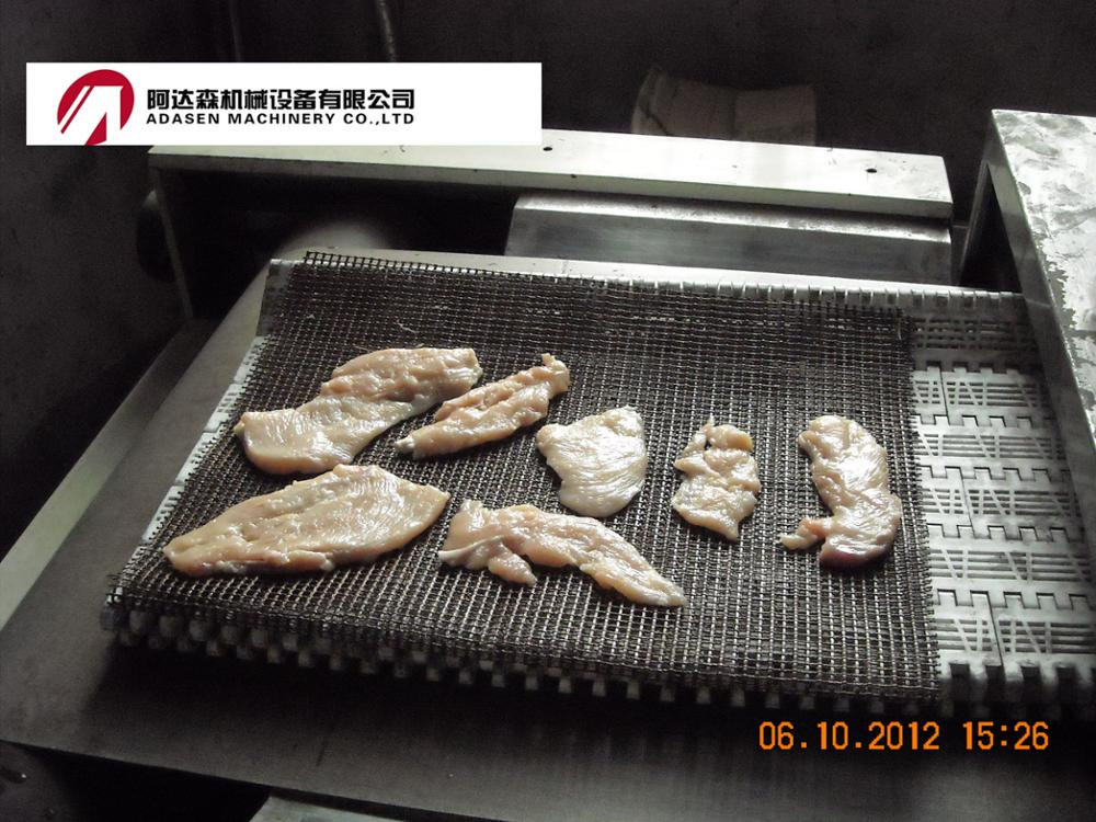 Industrial conveyor belt sardine fish microwave drying and sterilizing oven
