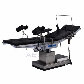 AG-OT008 approved multifunctional surgical electric operating table for sale