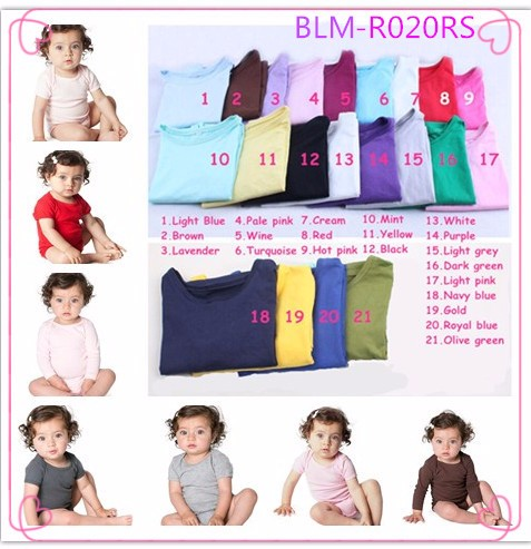 Bulk Wholesale Kids Clothing Monogram Blanks Solid Lavender Long Sleeve Triple Icing Ruffle Bottom Baby Gown