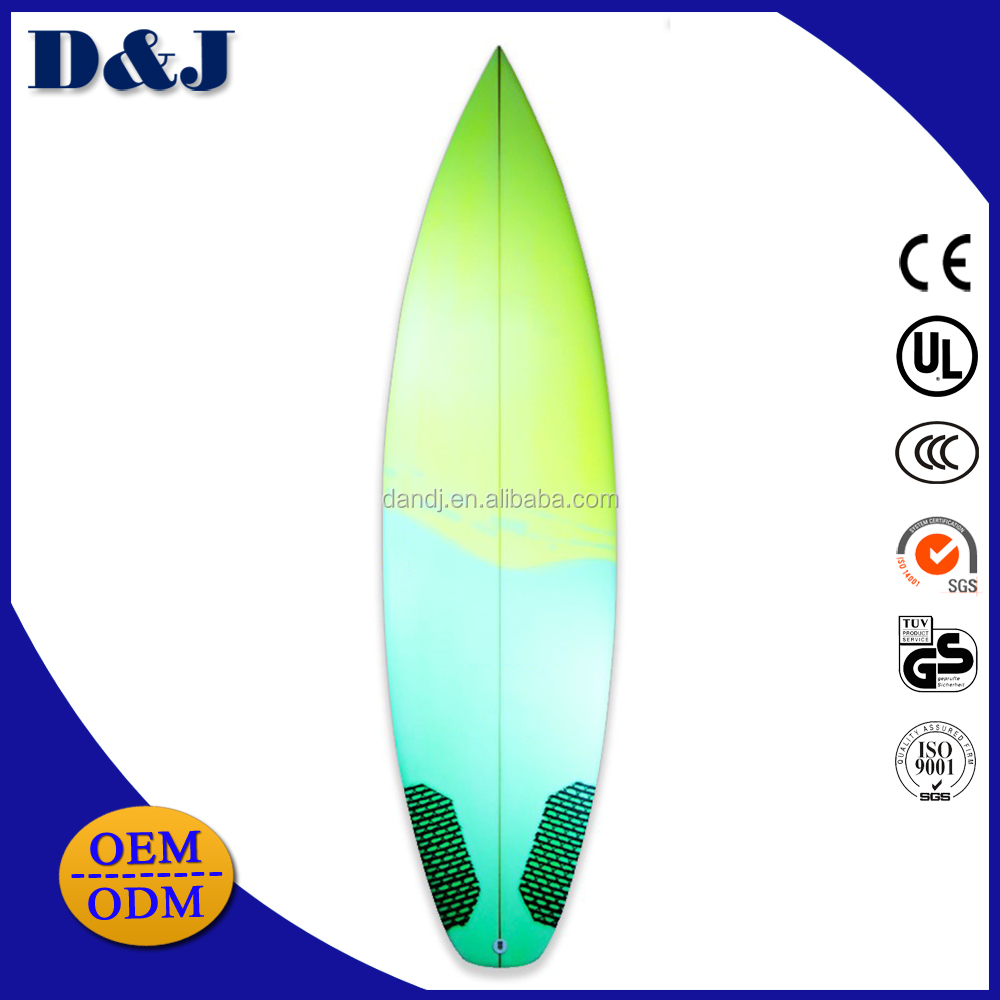 Made In China Fiberglass Surfboards With Fins FCS Box