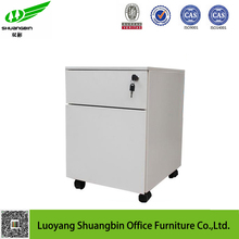 office furniture hanging vertical mobile 2 drawer metal filing cabinet with lock