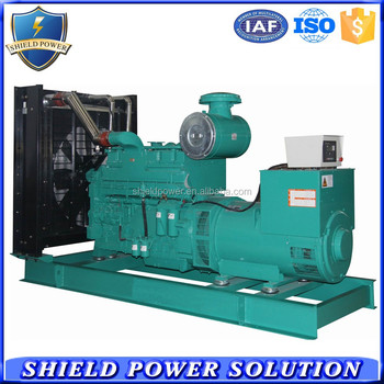 460KW Diesel Fuel Genset, Chinese Manufacturer Generator Set For Sale