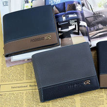 Mens Card Bifold Purse Pocket Money Clip Leather <strong>Wallet</strong>