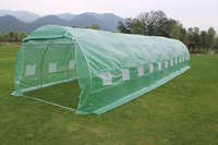 12 x 3 x 2M Polytunnel Polly Tunnel Garden Greenhouses tent for agriculture sale