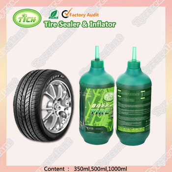 Quick repair Tyre liquid Sealer with Inflator tyre Restore the flat 1000ml
