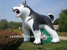 high quality commercial advertising promotion inflatable dog ,outdoor advertising inflatable as advertising display
