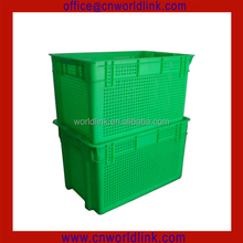 50kgs Nestable and Stackable Plastic Ventilated Fruit Crates