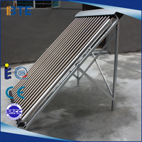 China manufacturer customized wholesale heat pipe heating solar collectors