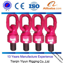 Rigging safety factor 4:1 LIFTING RING / HOIST LIFTING RING / SWIVEL LIFTING RING
